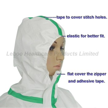 anti-acid, anti-static, disposable waterproof coverall