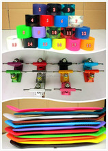 "DIY mixed colors Plastic skateBoard Complete Style 22"" skateboards"