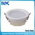 white 4inch 9w led downlight fixture,led downlight housing