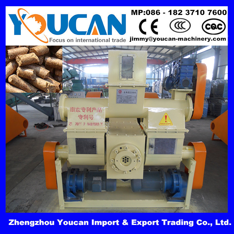 Environmental protection products briquette press equipment