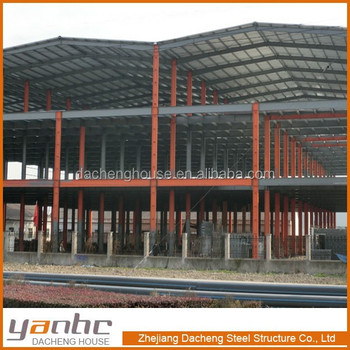 Easy assembling and fast installation steel structure whorkshop warehouse