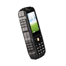 Dual Sim cards GSM feature phone best military grade rugged cell phone with power bank bluetooth