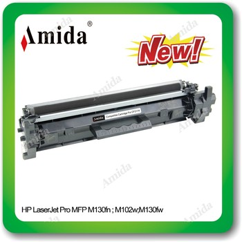 New released compatible toner cartridge CF217A For MFP M130fn/MFP M102w/MFP M130fw