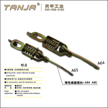 TANJA zinc plated latch with spring A65/ industrial latch/ clamp lock