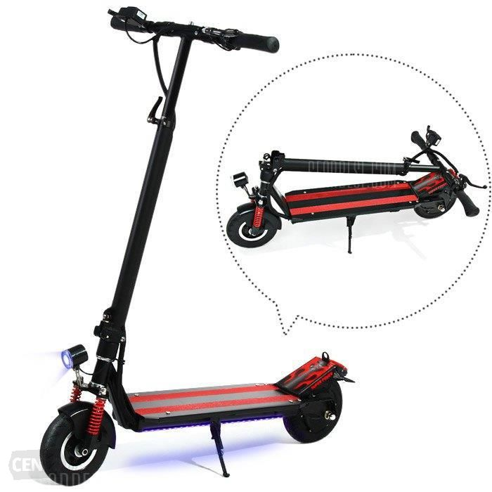 Leadway 2018 folding off road self balancing kick electric scooter 48v