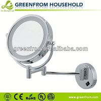 hotel illuminated mirrors high-end LED magnifying mirror