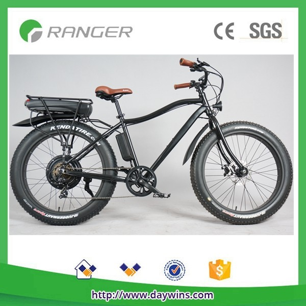 48V 1000W fat tire snow electric bike