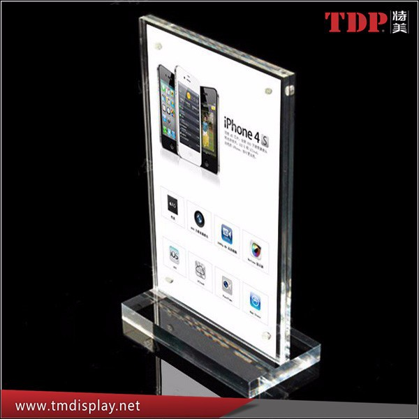acrylic showing stand ipad security display stand