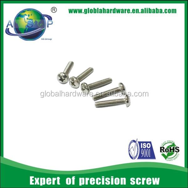 M2 x 10 pan head screw standard thread size pan head screw