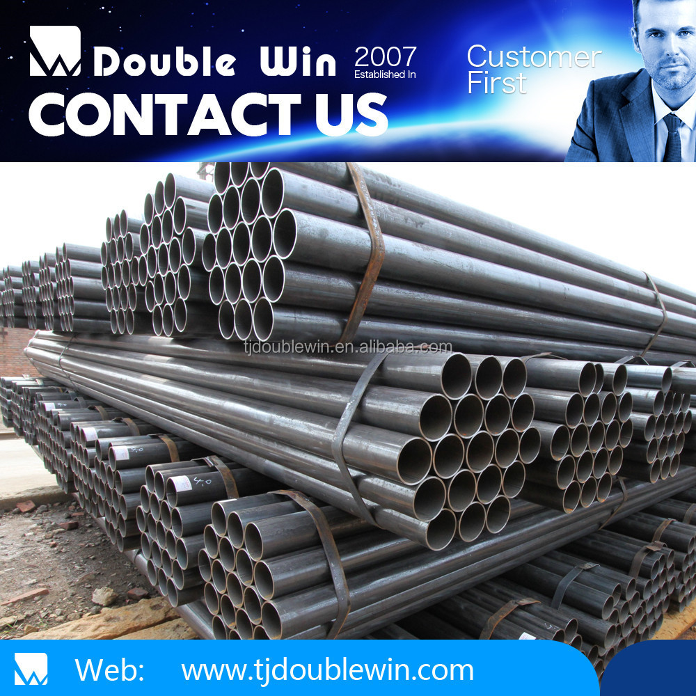 astm a691 ERW hollow structural carbon steel pipe price