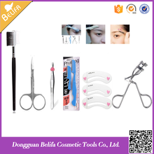 Belifa profeesional eyebrow knife Eye care set