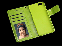 Folding strong Magnetic Wallet Mobile phone Case for iPhone 5