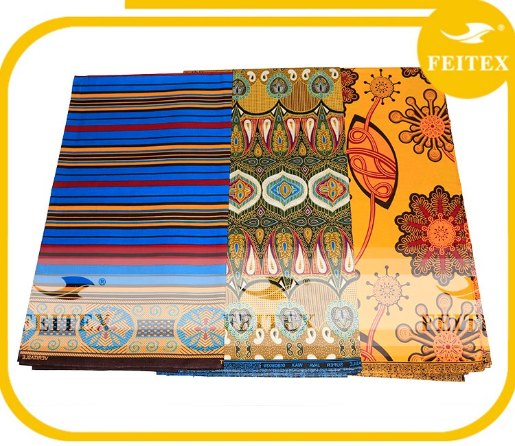 Hot Sales African Wax Prints Fabric 6 Yards/African Print Fabric/Printed Cotton Fabric