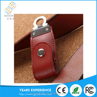 High quality free sample low price wholesale leather usb 2.0