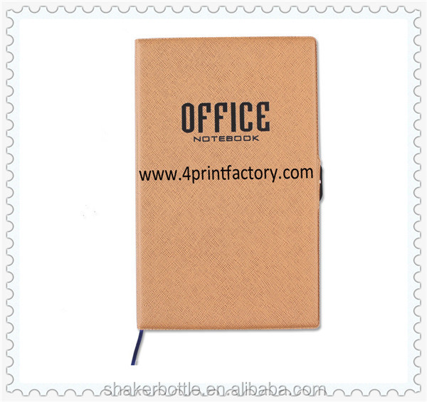High Quality Customized Hard Cover Work Office Note Book With Button
