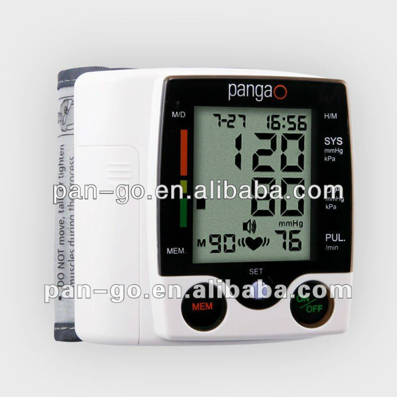 Wrist type Talking Blood pressure instrument PG-800A-1