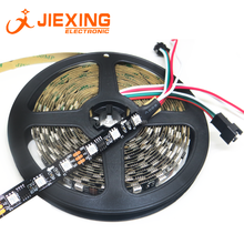 12V LED Strip <strong>RGB</strong> WS2811 5050 30 LED Non-waterproof Programmable Running LED Full Color Rainbow IP20