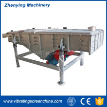 ZYSZ herbs powder linear vibrator screen sieving machine
