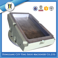 big ductile iron cast iron surface plate,cast iron bed plate,cast iron floor plate