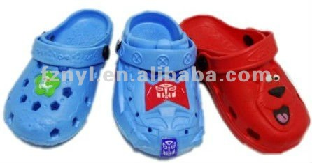 Newest EVA clogs garden shoes for child