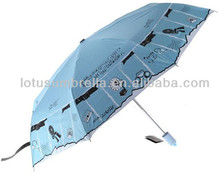8k Cute Picture Print Folding Children Rain Umbrella