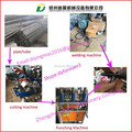 Working speed With 30-60times/min Square Tubes Punching Machine/Square Hole Of The Tube Drilling Machine