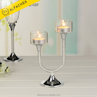 Candle Holder Wedding Decoration Crystal Candelabra Wedding Centerpieces