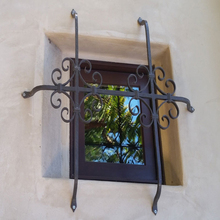 wrought iron window security grill design bars for windows
