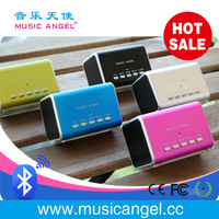 bluetooth+speaker+3.0 cool suction cup bluetooth speaker Music Angel metal enclosure