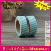 Qcustom waterproof chalkboard washi paper tape with great quality