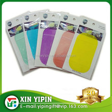 Multifunctional use colorful rubber mobile phone anti slip pad