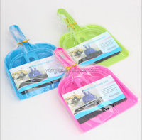 Multifunctional Colorful Lovely Mini Clean Dust Small Broom Brush Set With Dustpan