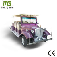 ce approval 6 passengers electric classic car