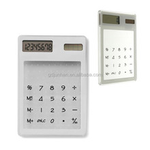 Mini cheap transparent promotional desk calculator