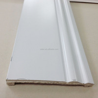 100mm Polystyrene Materials Ecofriendly Skirting Boards