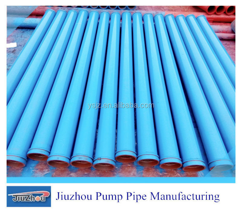 Thickness 2mm To 10mm ST52 Putzmeister Concrete Pump Delivery Pipe From China Supplier