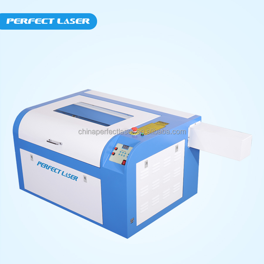 Co2 mini laser engraver / small 6040 co2 laser cutter / laser engraver 40w usb