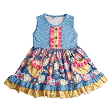 best sale kids clothes girl summer floral <strong>girl's</strong> <strong>dress</strong> cotton muster pie baby girls <strong>dress</strong> designs