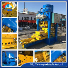 Diamond polishing terrazzo floor tile manufacturing machine/Hollow tiles Interlocking cement tile press machine price