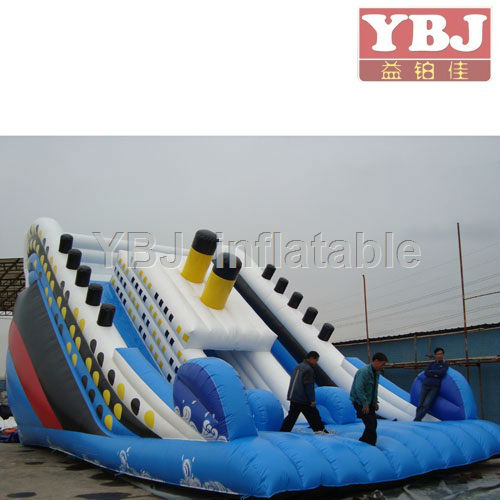 Huge Titanic inflatable slide for rental