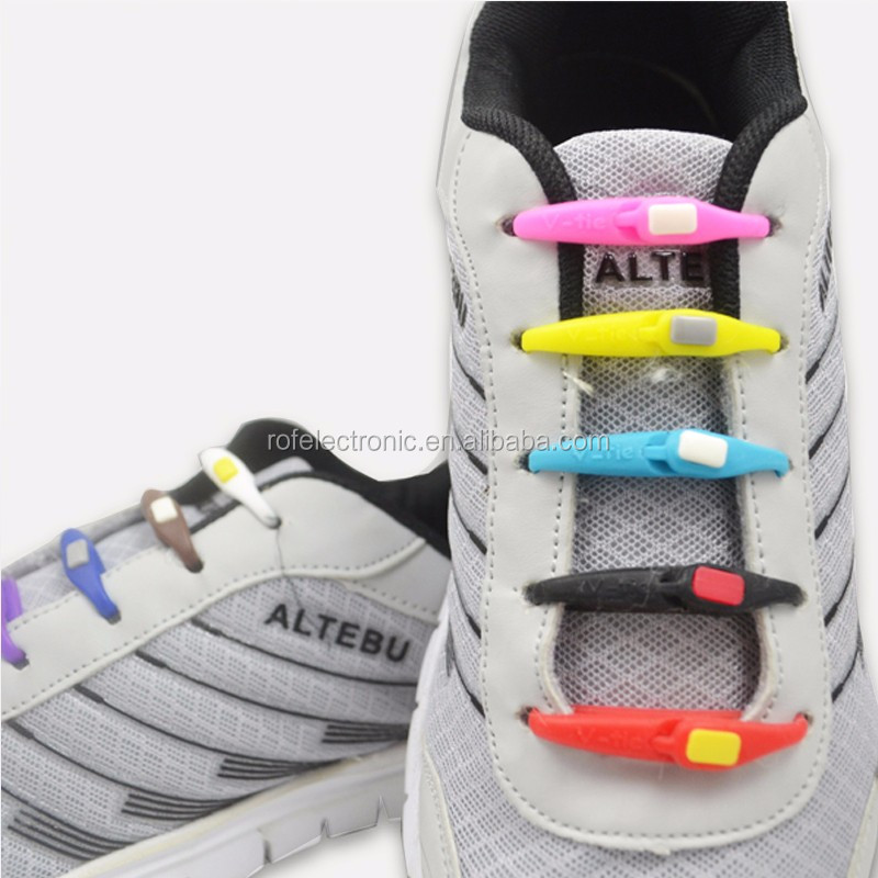 Elastic spring crazy best quality shoe laces lazy shoe laces
