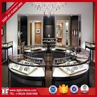 Custom modern shop design 3d rendering jewellery shop floor plan
