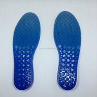 (WOMAN) two layer height increases insole reuasable soft gel insoles