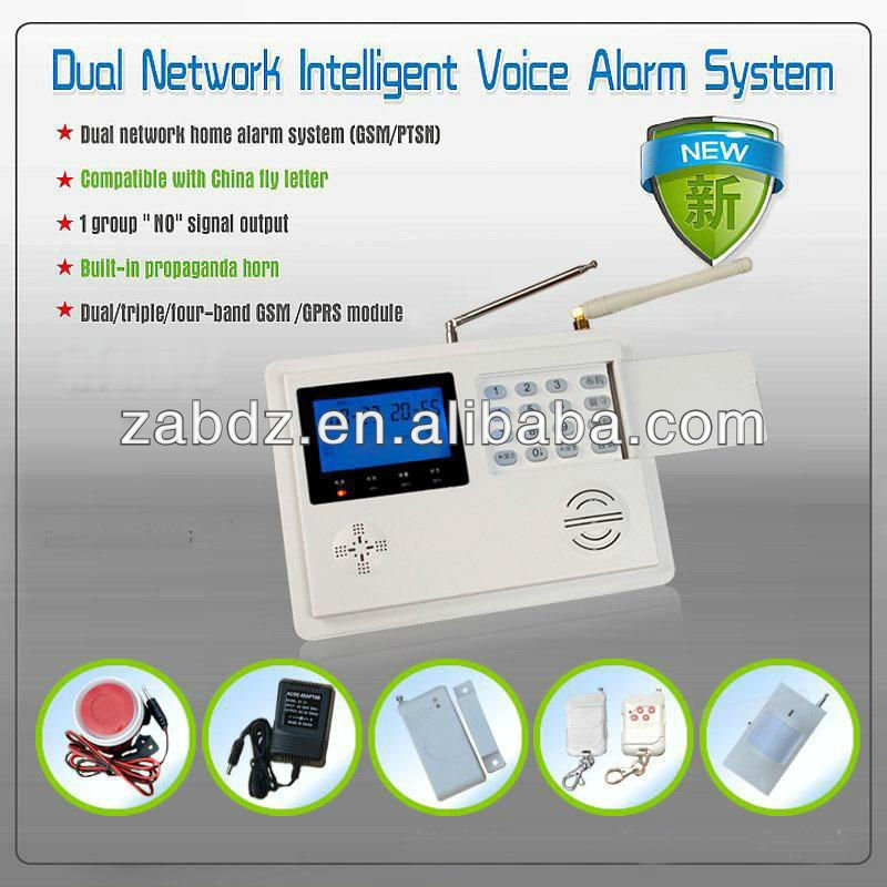 best home security wireless gsm/pstn alarm system