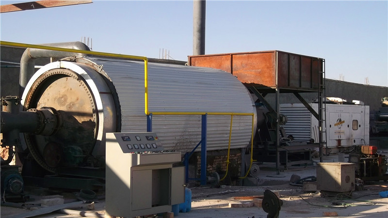 Business plan for tire pyrolysis plants