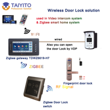 IC ID card supported smart door lock for home hotel security system