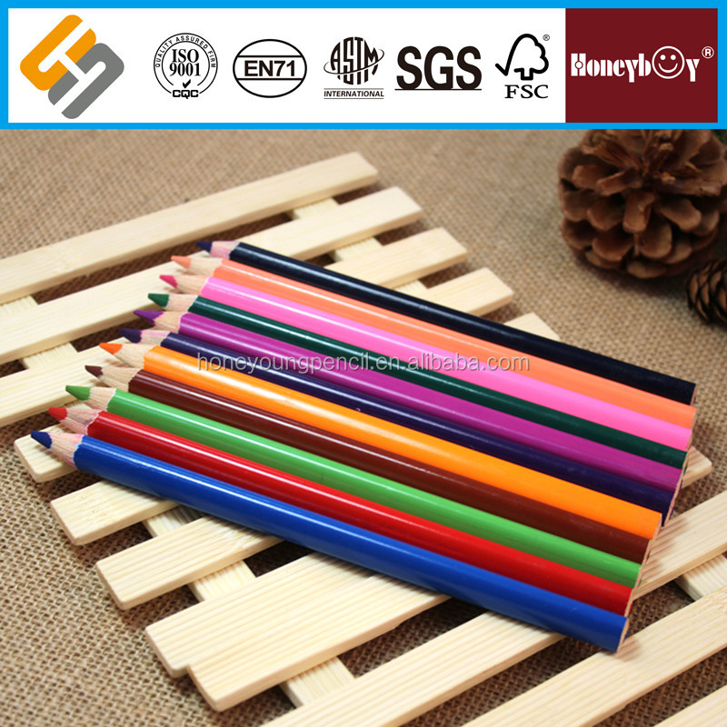 Personalized Basswood Body Color Pencil for promotion
