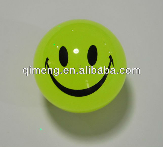 best cute smiling face water balls with flash power