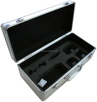 high quality aluminum tool case&boxes carrying equipment case with aluminum frame
