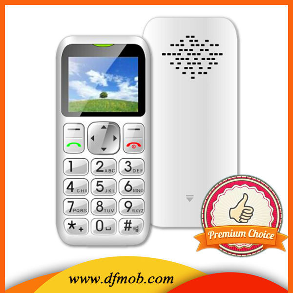 The Old Age Mobile Phone 1.8inch Single SIM Card Unlocked Wap Gprs MTK6261M Gsm Quad Band FM SOS OEM Cell Phone T06